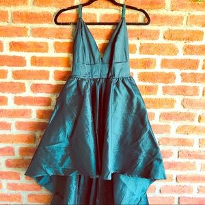 Beautiful Forest Green High Low Formal Dress NWT